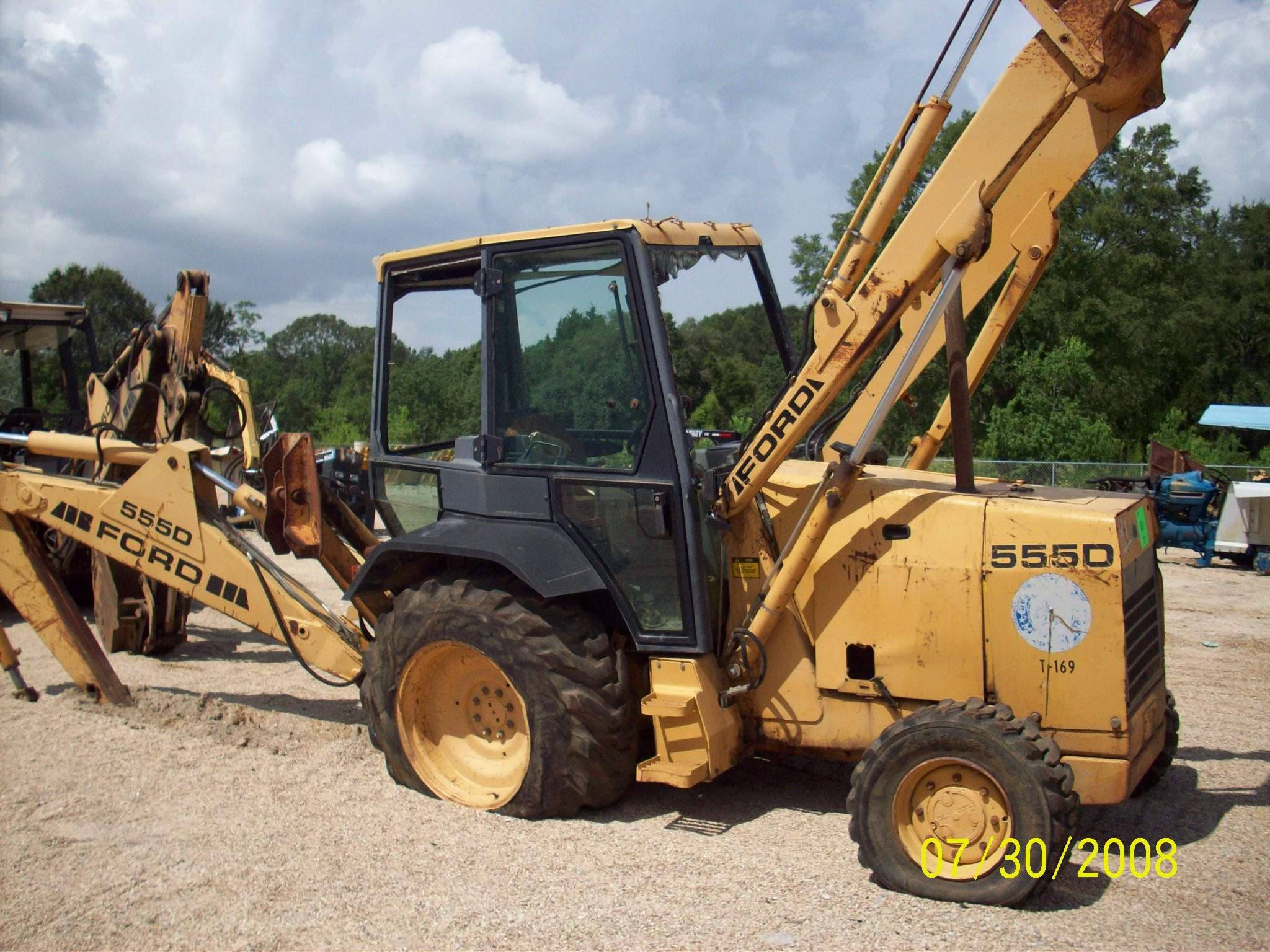 Ford 555d Backhoe Parts : Ford
