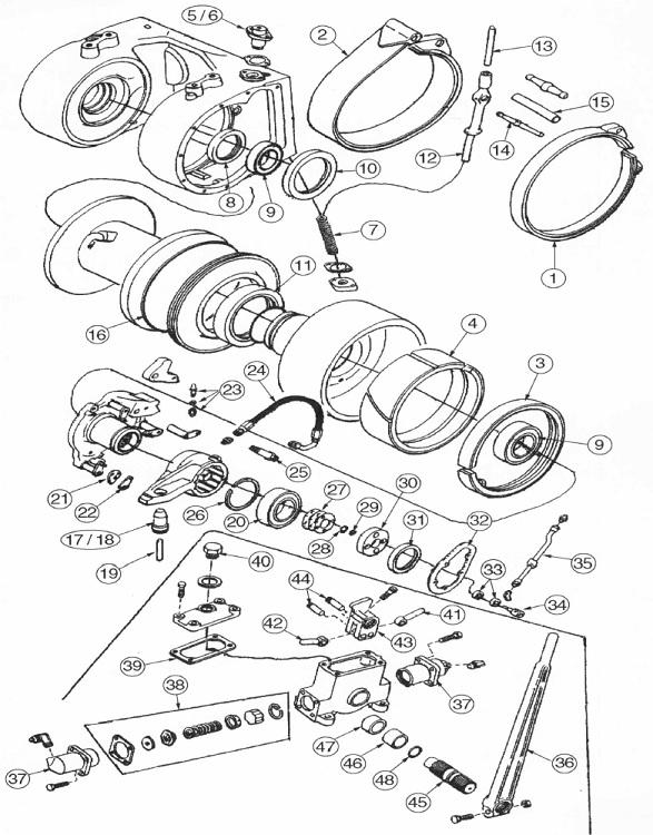 case dozer winch parts case winch parts gearmatic winch bulldozer winch